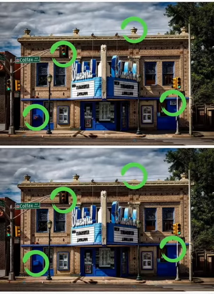 Find The Differences The Detective Answers The Stranger On The Street Level 1 10 Topgames Com